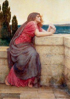 Isolde ~ Charles Edward Perugini ~ (Italian: 1839-1918)