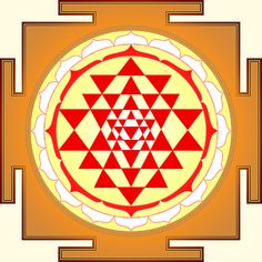Sri yantra, also known as Sri Chakra, is called the mother of all yantras because all other yantras derive from it. In its three dimensional forms Sri Yantra is said to represent Mount Meru, the cosmic mountain at the center of the universe.