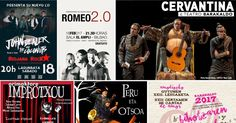 Agenda | Teatro con Cervantes + cartas de amor + teatro infantil + teatro de humor + rock