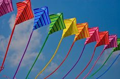 *Don't forget Kite flying this Spring*  Go fly a kite! The football field is optimal flying space.