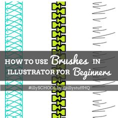 Fashion Illustration Design Illustrator Tutorials for Fashion Design: how to use brushes in illustrator for beginners Graphic Design Fonts, Graphic Design Tutorials, Graphic Design Illustration, Digital Illustration, Lingerie Illustration, Adobe Illustrator Tutorials, Photoshop Illustrator, Photoshop Design, Photoshop Tutorial