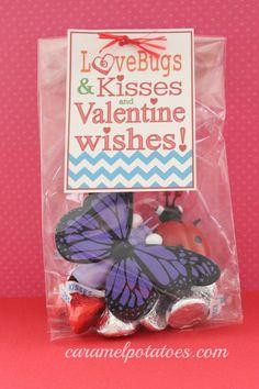 Love Bugs and Kisses Free Printable