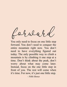 Forward Quote & Poetry - Nikki Banas, Walk the Earth Soul Love Quotes, Now Quotes, True Quotes, Words Quotes, Great Quotes, Quotes To Live By, Inspirational Quotes, Sayings, You Are Strong Quotes