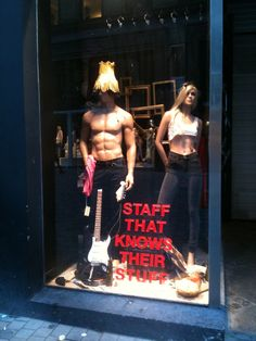 staff that knows their stuff. ok, but a lamp shade? really?
