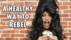 s it possible to be a rebel AND eat #healthy? (Sounds like a contradiction right?) Well, in this week's J-ciniTV, learn some fun & even sexy new ways to be rebellious AWAY from the table. #laughyourselfskinny #losingweight