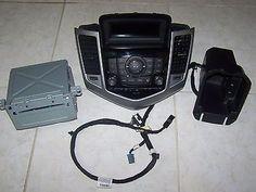 12-15 Chevrolet Cruze Radio MP3 CD Player Control Panel Bezel USB AUX Harness #replacementpart #autoparts #recycleautoparts #automotive #vehicleparts #projectcar