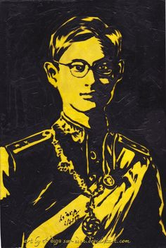 King Bhumibol Adulyadej by sw-eden