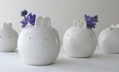 Bunny Vase by J. Mendicino - $42.00 at Reverie Daydream Boutique