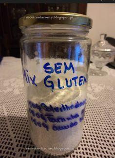 Receitas da Romy: Mix de farinhas sem glutén