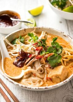 Laksa recipe - Learn how to transform a store bought laksa paste into a…