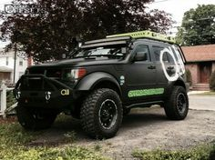Dodge nitro off road