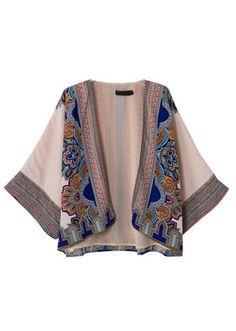 #MYTRENDTWOWARDROBE kimono | TrendTwo boho meets vintage.....love it! A/W/ hot trend!