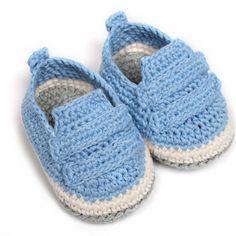 zapatitos crochet para varon - Buscar con Google
