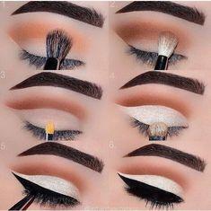 Eye Makeup Tips – How To Apply Eyeliner Hooded Eye Makeup, Eye Makeup Tips, Smokey Eye Makeup, Makeup Goals, Makeup Geek, Skin Makeup, Makeup Inspo, Eyeshadow Makeup, Makeup Addict