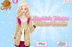 BARBIE de INVIERNO – Barbie de Invierno es un juego donde ayudas a vestirse a Barbie con los modelos de invierno de esta temporada. Diviértete vistiendo a Barbie.