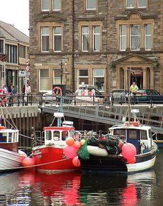 Harbor at Kirkwall, Orkney Island, Scotland