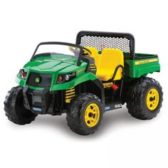 Car Peg Perego John Deere Gator XUV 12-volt Battery-Powered Ride-On - Ride On Toys & Accessories