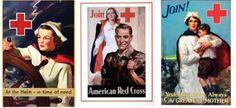 American Red Cross Nurse Flyers