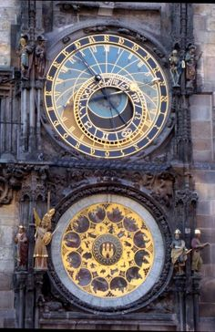Prague's Astronomical Clock--Saw it this fall!! =)