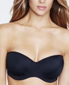 a96d9e06d1983 Dominique Oceane Strapless Hidden Underwire Bra 3541 - Black 40DD Strapless  Gown