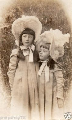 Hats for Young Girls, c.1900