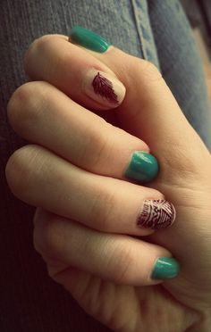 Tribal... nails... boho