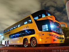 Ônibus da empresa Viação Itapemirim, carro 60090, carroceria Marcopolo Paradiso G7 1800DD, chassi Volvo B450R. Foto na cidade de Curitiba-PR por Luiz H. Bassetti, publicada em 29/03/2014 07:06:28.