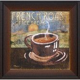 Found it at Wayfair - Artistic Reflections French Roast Framed Graphic Art $43.88