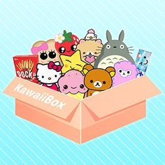 Kawaii Box is the cutest monthly subscription service. Subscribe Now and receive a box filled with hand-picked kawaii items from Japan and Korea directly to your home every month with free shipping.