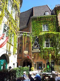 The Griechenbeisl (The Greek Inn) is one of Vienna's oldest inns. Visit Austria, Austria Travel, Vienna Austria, Honeymoon Pictures, Heart Of Europe, Central Europe, Salzburg, Get Outside, Study Abroad