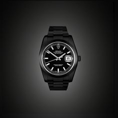BLACK-OUT ROLEX DATEJUST by PROJECT X