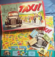 board games from the 1950's | also the earlier Ariel 1950's edition currentlyavailable