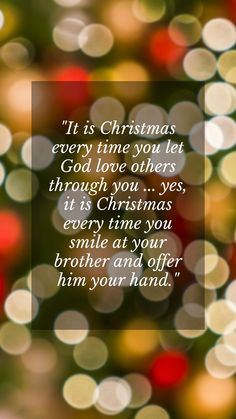 Merry Christmas texts message greeting card for best friends, boss, colleagues and family. It is Christmas every time you let God love others through you ... yes, it is Christmas every time you smile at your brother and offer him your hand. #merrychristmastexts #merrychristmasmessages #merrychristmasgreetingcards