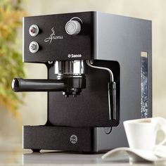 Aroma Espresso Machine by Saeco  A traditional Italian-made espresso machine with pressurized brewing chamber and Pannarello frother. $275.00 http://websites-buy.com/starbucks-coffee-store