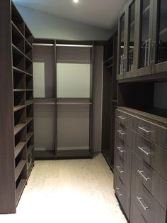 Milano Textured Wood Grain Closet System