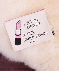 Kiss James Franco Pouch - Jac Vanek