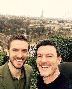Luke Paris BATB promos, Feb 2017. Via Luke's IG