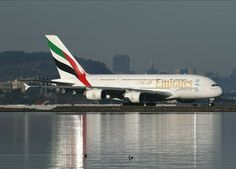 Emirates Airbus, Emirates Airline, Airbus A380, Aircraft Pictures, Cabin Crew, Aviation, Airports, Airplanes, Landing