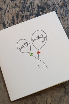 What a great idea! Pencil shavings #birthday #card #paper #stationery #balloons available in-store or via telephone on 01614382500 £2.99