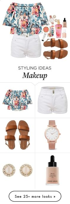 Sin título #275 by frida-moreno-styles on Polyvore featuring LE3NO, Elizabeth and James, Aéropostale, Essie, Victoria's Secret, Milani, Larsson & Jennings and Kate Spade