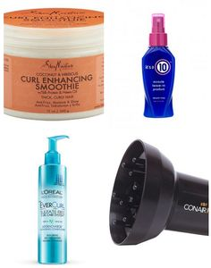10 Perfect Products For Curly Hair Under $15