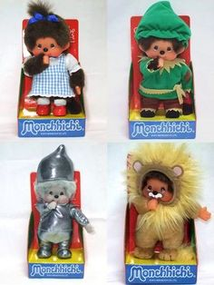 Monchhichi in Wizard of Oz :)