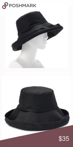 Black brim folded brim bucket hat This women s SONOMA Goods for Life solid bucket  hat is sure to be a staple in your warm-weather attire. 8d83708f879f
