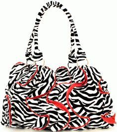 $25.00 Zebra Purse #sassy_steals, #daily_deals
