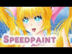 Luchia (Mermaid Melody Pichi Pichi Pitch) - Speedpaint - YouTube