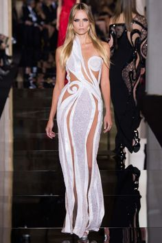 Curves are in, underwear is out at Atelier Versace - Spring 2015 Couture - Look 40 of 48