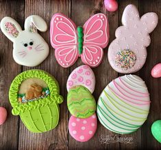 """sugar cravings on Instagram: """"Samples for my Easter cookie decorating class this weekend! 🐰 . . . #sugarcravings #decoratedcookies #decoratedsugarcookies #customcookies…"""""""
