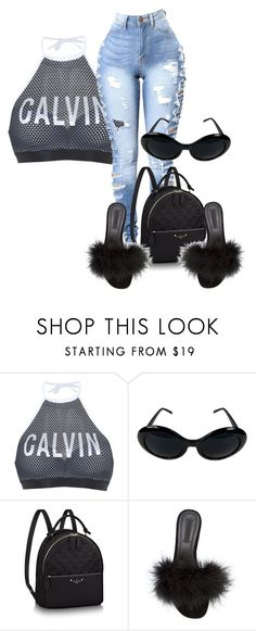 """""""mannequinxo x candy coated rain drops .. blac chyna"""" by xxxthebombshellfactoryxxx ❤ liked on Polyvore featuring Calvin Klein and Alexander Wang"""
