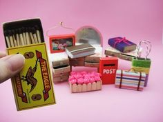 10 DIY Barbie Hacks & Craft - Match Box Bag, Table, Dresser, Book, Suitcase etc - YouTube