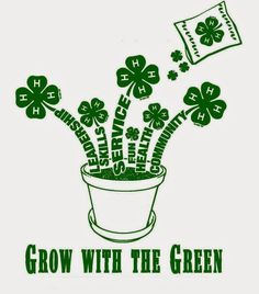 Grow with the Green - would be great with our Growing with Kids garden